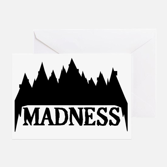 At The Mountains Of Madness Greeting Card