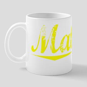 Matlock, Yellow Mug