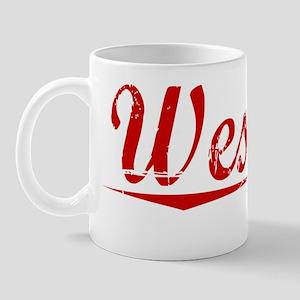 Westley, Vintage Red Mug