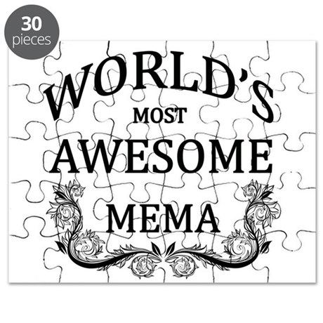World's Most Awesome Mema Puzzle