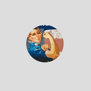 Rosie for Obama Mini Button