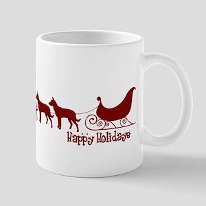 """Kelpie """"Sleigh"""" Mug"""