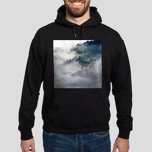 Beautiful Wolves In The Winter Sweatshirt