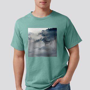 Beautiful Wolves In The Winter T-Shirt