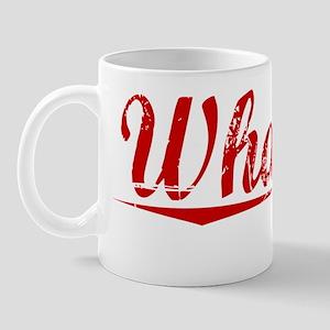 Whatley, Vintage Red Mug