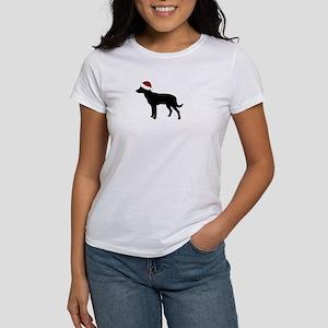 "Kelpie ""Santa Hat"" Women's T-Shirt"