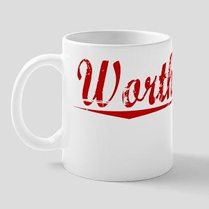 Worthington, Vintage Red Mug