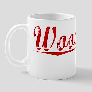 Woodbury, Vintage Red Mug