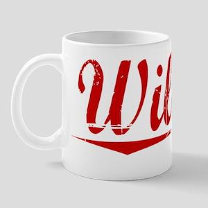Wilmot, Vintage Red Mug