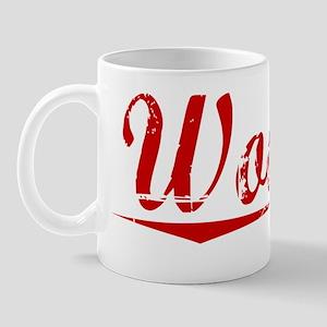 Wooten, Vintage Red Mug
