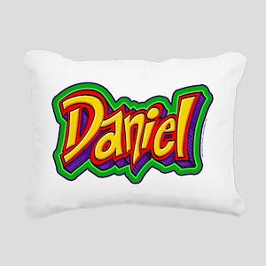 Daniel Graffiti Letters  Rectangular Canvas Pillow