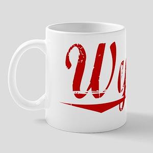 Wynne, Vintage Red Mug