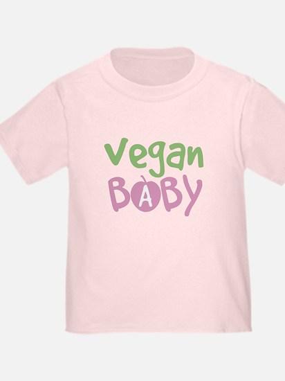 Vegan Baby Girl T