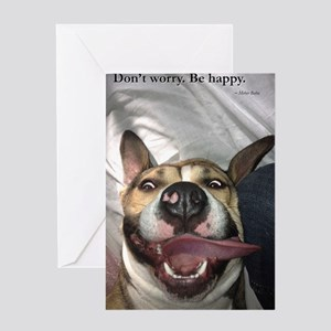 Dont Worry. Be Happy. Greeting Card