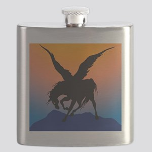 Black Pegasus Flask