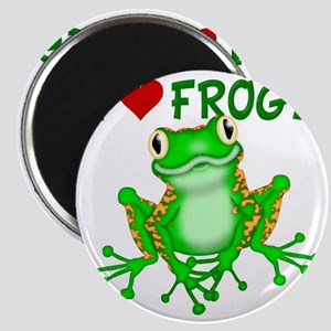 I  Love (Heart) Frogs Magnet