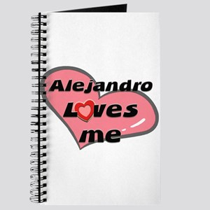 alejandro loves me Journal
