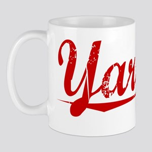 Yardley, Vintage Red Mug