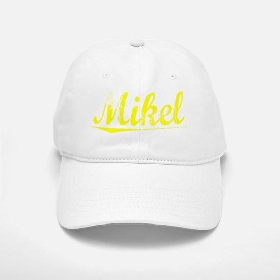 Mikel, Yellow Baseball Baseball Cap