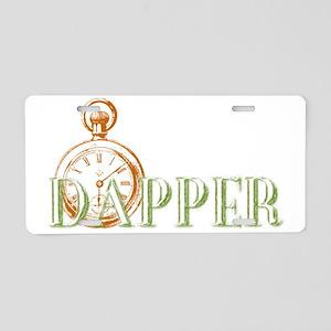 Dapper Pocket Watch Newspri Aluminum License Plate