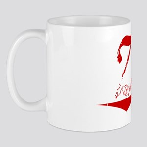 Zinn, Vintage Red Mug