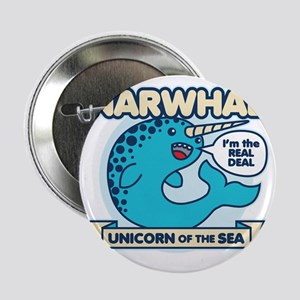 "Narwhal 2.25"" Button"