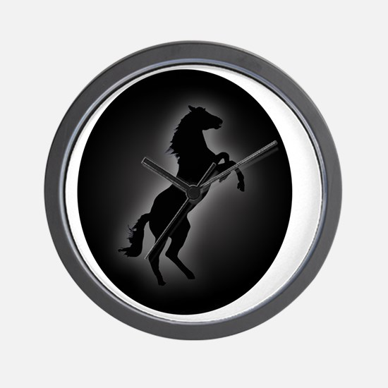 Stallion copy Wall Clock