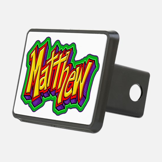 Matthew Graffiti Letters N Hitch Cover