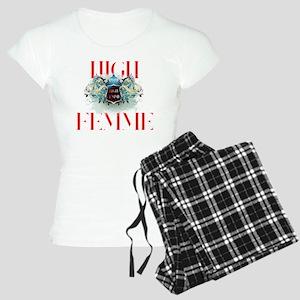 High Femme Shield Rouge Lip Women's Light Pajamas