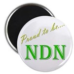 """Proud to be NDN 2.25"""" Magnet (10 pack)"""