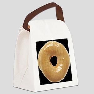 donut glazed_donut_largeldbutlarg Canvas Lunch Bag