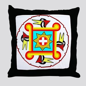 SOUTHEAST INDIAN DESIGN Throw Pillow