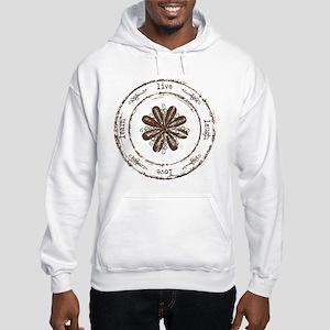 live, laugh, love, learn Hooded Sweatshirt