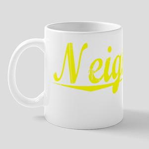 Neighbors, Yellow Mug