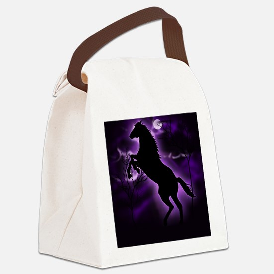 Lightning Horse Canvas Lunch Bag