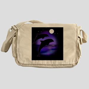 Dolphins bg Messenger Bag