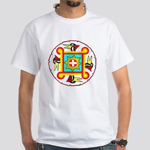 SOUTHEAST INDIAN DESIGN White T-Shirt