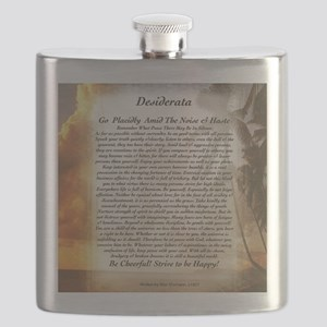 The Desiderata Poem by Max Ehrmann Flask