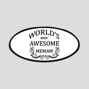 World's Most Awesome Memaw Patches
