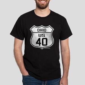 US Route 40 - Ohio Dark T-Shirt