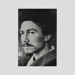 Ezra Pound Rectangle Magnet