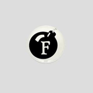 The F Bomb Mini Button