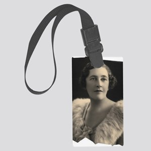 Agatha Cristie Large Luggage Tag