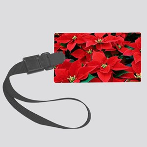PoinsettiaShoulderbag-a Large Luggage Tag