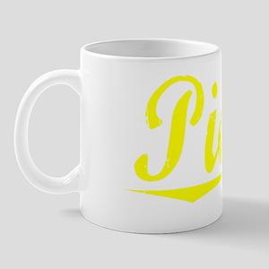 Pickel, Yellow Mug