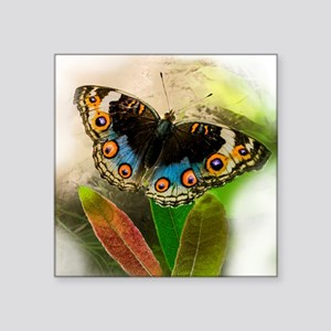 "Little Butterfly Square Sticker 3"" x 3"""