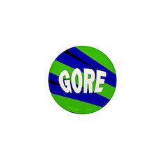 Blue Green Gore Mini Button