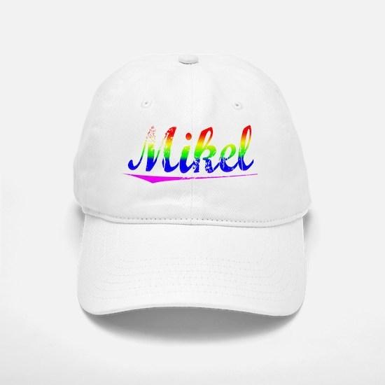 Mikel, Rainbow, Baseball Baseball Cap