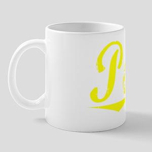 Poore, Yellow Mug