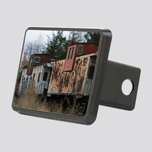 Two Cabooses Rectangular Hitch Cover